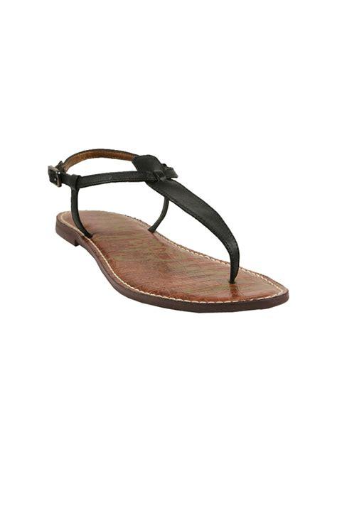 sam edelman sandal sam edelman gigi sandals in white black lyst