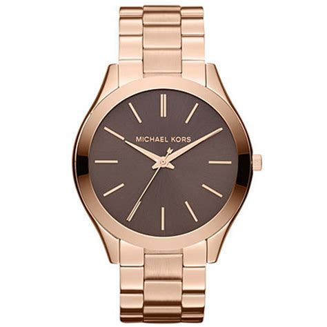michael kors mk ladies rose gold tone  cheapest