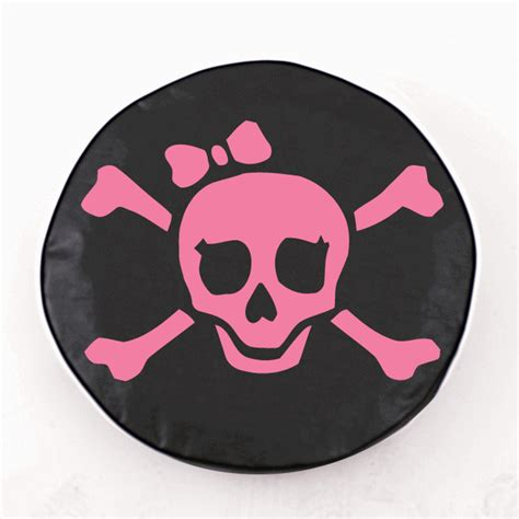 jolly roger jeep tire cover all things jeep pirate jolly roger tire cover pink