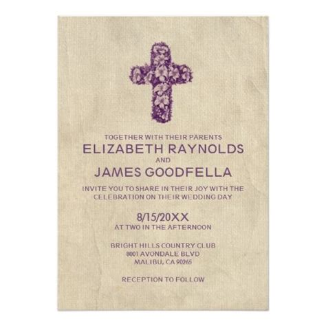 Catholic Wedding Invitations