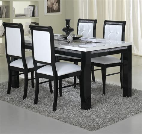 black and white dining room set beautiful black white dining room set and table sets