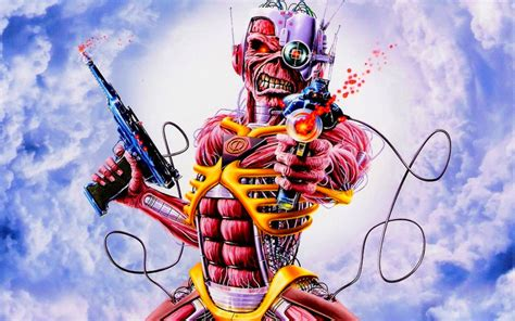 Derek Riggs Artwork by Iron Maiden Album Cover Art Derek Riggs Artworks