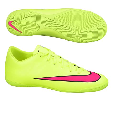 Nike Mercurial Futsal nike mercurial victory v ic indoor soccer shoes volt black hyper pink