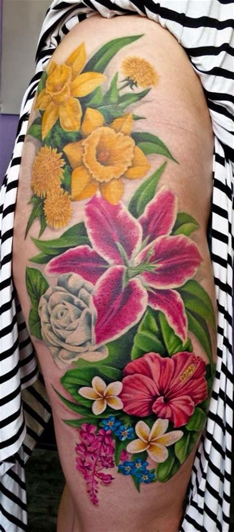 daffodil and rose tattoo best 20 plumeria ideas on small tribal
