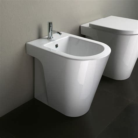 Toilet Bidet Catalano Zero 55 Floor Mount Bidet Floor Mounted Toilet