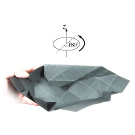Origami Coffin - how to make an origami coffin for page 10