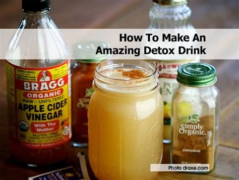How To Make A Detox Cleanse At Home by How To Make An Amazing Detox Drink