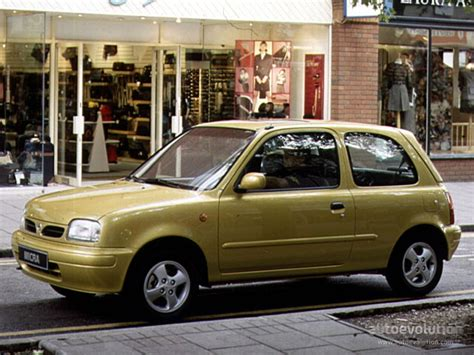 nissan micra 1 3 lx manual 1992 1996 75 cv 5 puertas especificaciones de coches co2 nissan micra 3 doors specs photos 1992 1993 1994 1995 1996 1997 1998 autoevolution