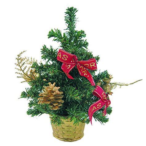 vaso per albero di natale reila 59425129 albero di natale da scrivania da 30 cm con