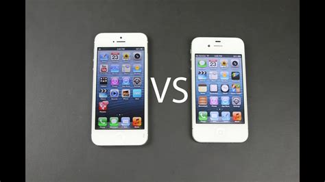iphone 5 vs iphone 4s design changes