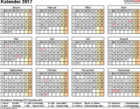 Vordruck Kalender 2017 Kalender 2017 Zum Ausdrucken Als Pdf 16 Vorlagen Kostenlos