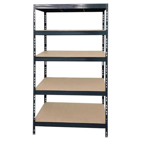 5 tier shelving unit 24 x 48 x 70 quot grey metal rona - Etagere 60x60