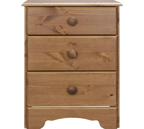 Pine Bedside Cabinets Argos by Buy Home Nordic 3 Drawer Bedside Chest Pine At Argos Co