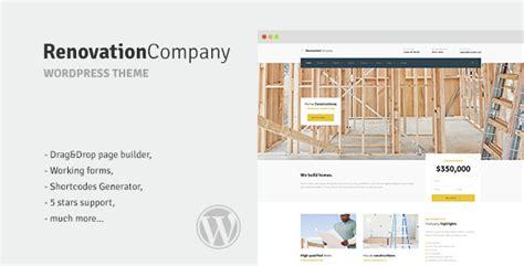 renovation theme 40 best professional corporate wordpress themes 2016