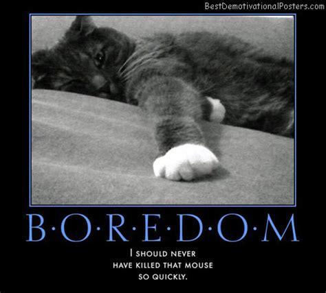 Bor Edon boredom cups motivational poster