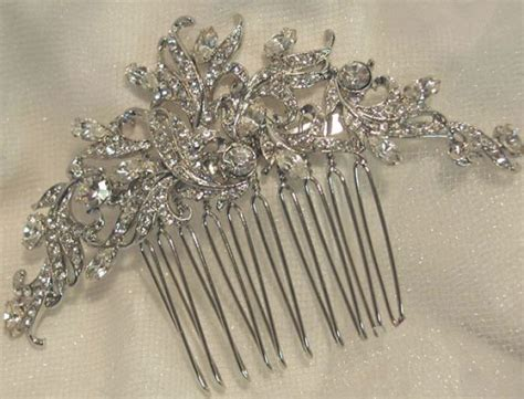 Vintage Bridal Hair Jewelry by Antique Bridal Hair Jewelry Antique Jewelry