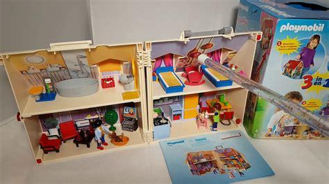 playmobil haus playmobil city 5167 neues mitnehm puppenhaus 3 in 1
