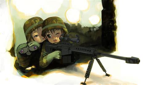 anime soldier girl wallpaper download gunwall rifle wallpaper 1600x933 wallpoper 363515