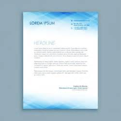 Business Letterhead Samples Free Download Abstract Business Letterhead Template Vector Free Download