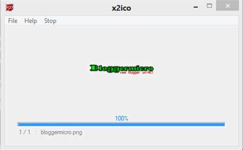 cara merubah format gambar jadi icon ubah format gambar jadi icon dengan x2ico bloggermicro