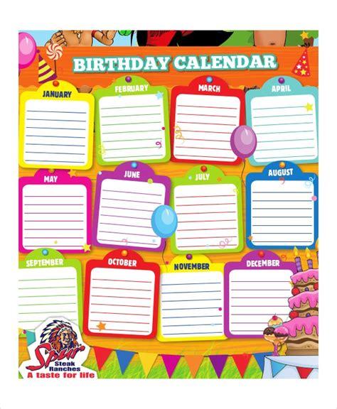 birthday calendar   word  psd documents   premium templates
