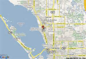 map of sarasota days inn airport sarasota