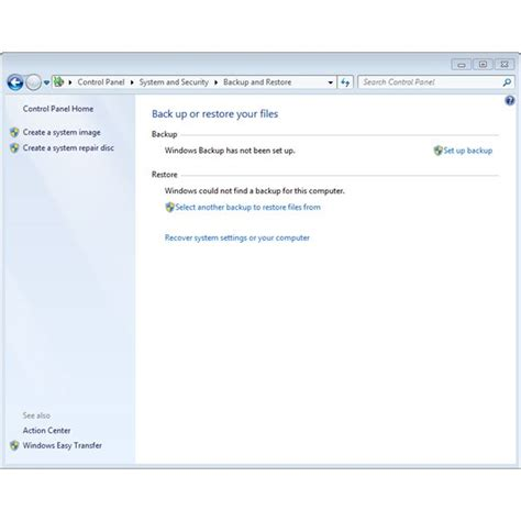 backup what is new in windows 7