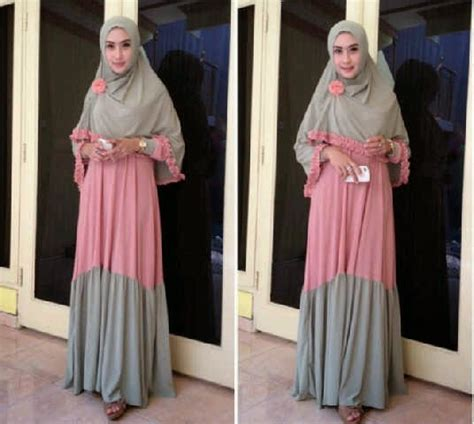 Syar I Maxi Bergo capria outlet sold out thanks gamis syar i 909 maxi pink