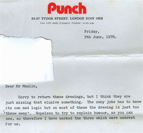 Rejection Letter New Yorker 1000 images about punch artists and writers on