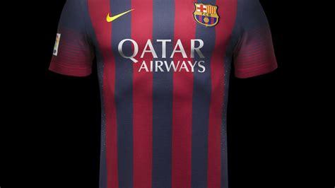 Barca Home New nike unveils new fc barcelona home and away kits nike news