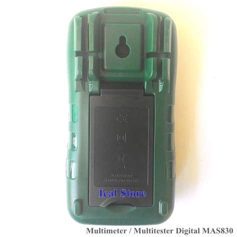 Alat Ukur Ac Listrik Voltmeter Digital Stop Kontak Pln T1310 multimeter digital 830l ical store ical store