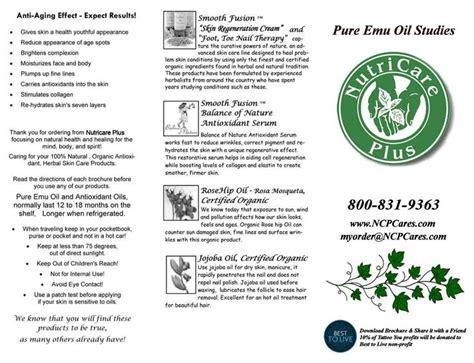 tattoo aftercare emu oil 8 best brochures nutricare plus organic natural skincare