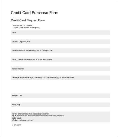 credit card on file form templates credit card form template 9 free sle exle
