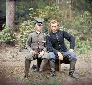 the civil war in color photos see the american civil war in color