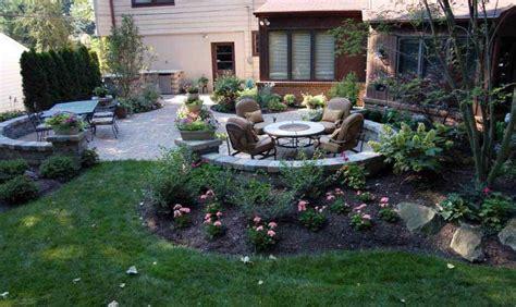 backyard patio landscaping ideas in the back 4 backyard landscaping ideas and tips