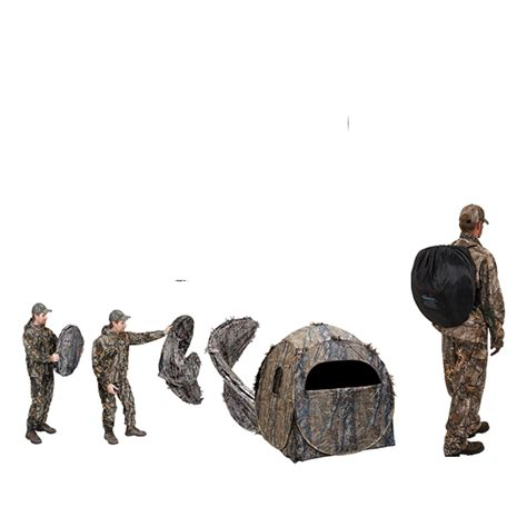 ameristep dog house ameristep doghouse schuiltent realtree xtra met draagtas
