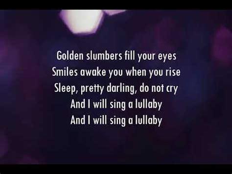 dua lipa golden slumbers mp3 dua lipa golden slumbers lyrics youtube