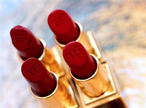 Power Up With the Four Resplendent Reds From the New Tom Ford Beauty Jasmine Rouge Lip