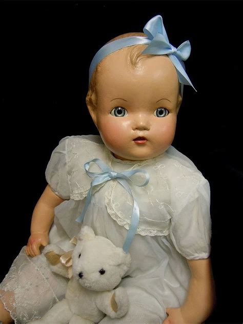 composition dolls 1930s vintage composition baby doll 1930 s 40 s restored