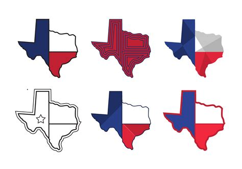 texas vector map texas map vector icons 1 free vector stock graphics images