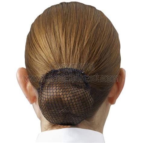 raf women hair styles black hair bun net for cadet and regular forces