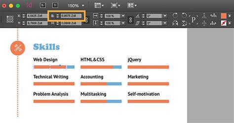 Lebenslauf Bild Positionieren Professionellen Lebenslauf Erstellen Adobe Indesign Cc 220 Bungen