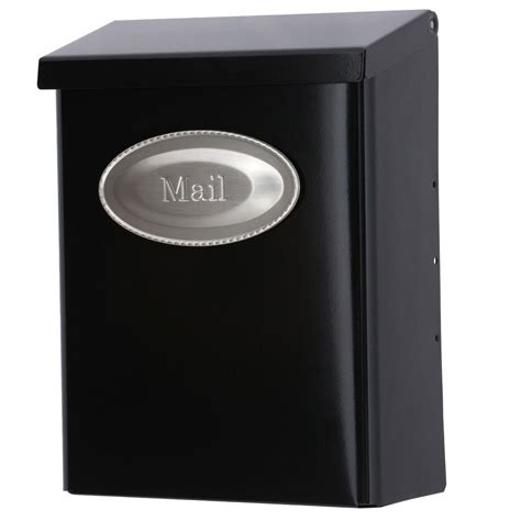 decorative door emblem gibraltar mailboxes designer black satin nickel decorative
