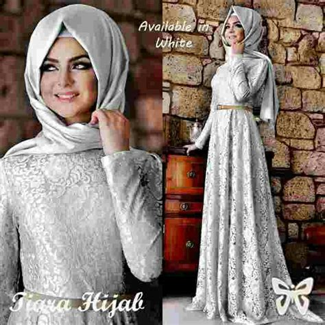 Busana Muslim Modern Murah baju muslim brukat cantik modern model terbaru murah