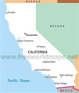 simple california map california maps