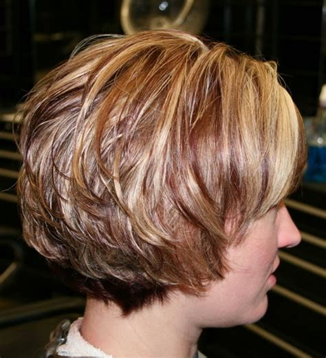 long layered wedge bobs layered wedge haircut