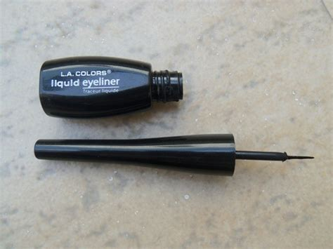 la colors liquid eyeliner la colors liquid eyeliner review
