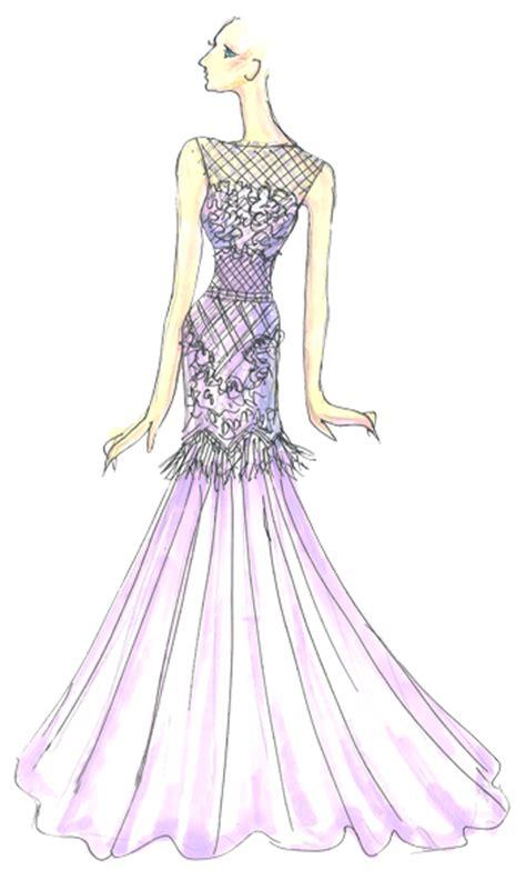 tadashi shoji violet tulip spring  pantone fashion