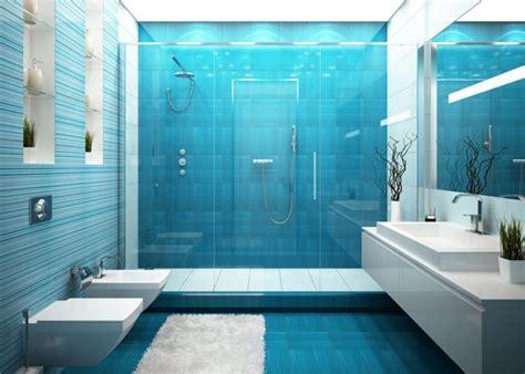 badezimmer fliesen farbe bauhaus blaue fliesen f 252 rs badezimmer 25 moderne beispiele