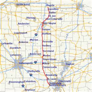 State Map Of Indiana by File Map Of Indiana State Road 1 Svg Wikimedia Commons